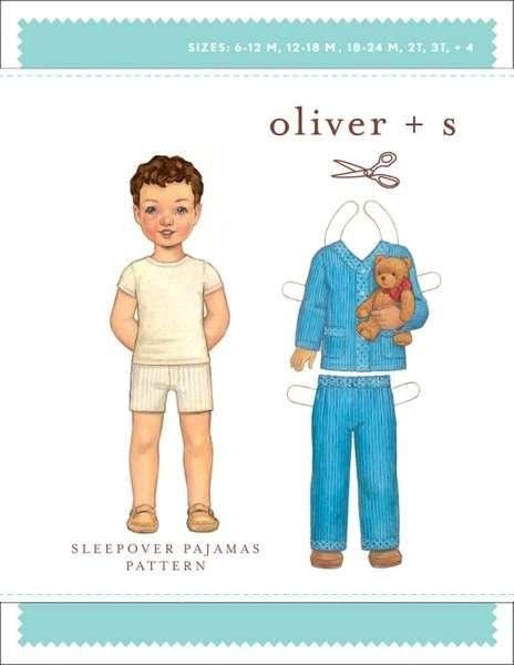 Sleepover Pajamas 6 Months - 4 Years