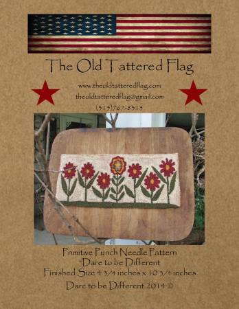 Dare To Be Different Punch Needle Pattern