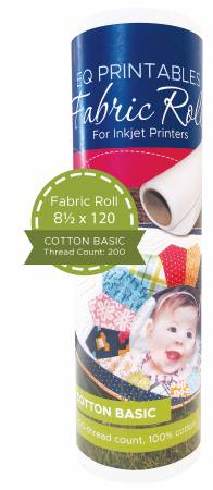 Cotton Printable Fabric Roll 8-1/2in x 120in