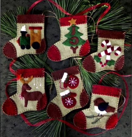Warm Feet Ornaments Pattern