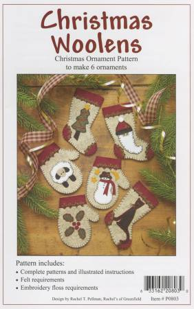 Christmas Woolens Ornaments
