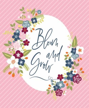 Bloom And Grow Panel Pink