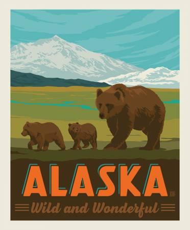 Destinations 3 Alaska Wild And Wonder Panel