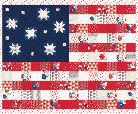 Land Of Liberty 36 Flag Panel by My Mind's Eye for Riley Blake  P10567R-PANEL