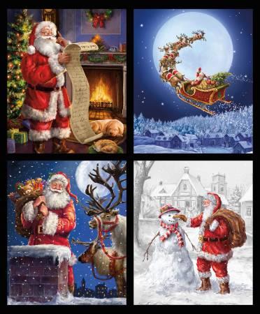 Fabric Panel-Riley Blake Christmas Time Is Here Pillow 36