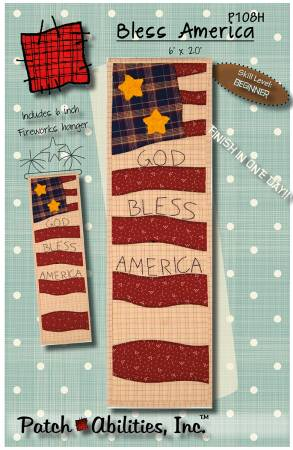 Bless America With Patriotic Fireworks Hanger