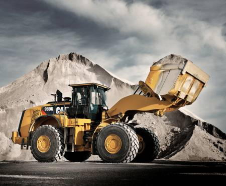 CAT Front Loader 36in Panel Digitally Printed
