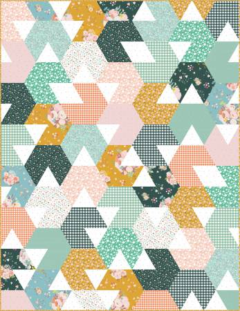 Allie Perry Hex is Gone Quilt Pattern