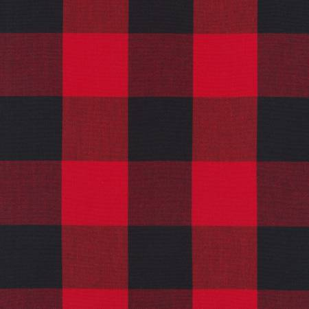 Scarlet Carolina Gingham 2in