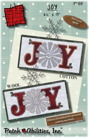 Joy Pattern P169 6 1/2 x 13