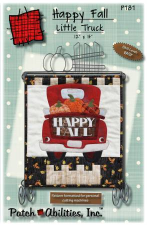 Happy Fall Little Truck Pattern