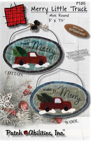 Merry Little Truck Mini Round kit