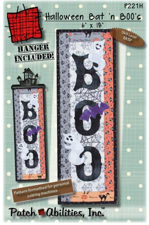 XHalloween Bat 'N Books with Hanger