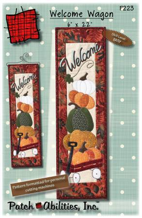 Welcome Wagon Applique Pattern