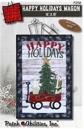 Happy Holidays Wagon