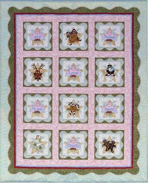 Anita's Christmas Quilt - Complete Set