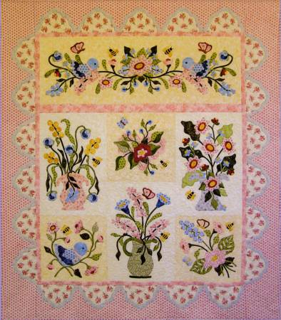 Fantasy Flowers pattern