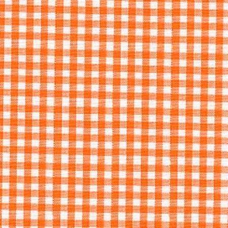 Orange Gingham