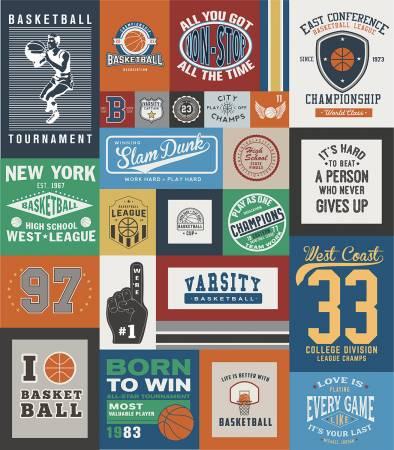 Varsity Basketball Quilt Kit