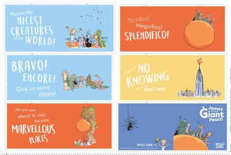 James And The Giant Peach Soft Book 24 X 42