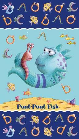 The Pout Pout Fish Panel P8255 ( 24 X 42) Multi