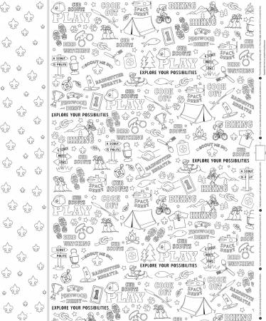 Color Me Pillowcases Cubscout