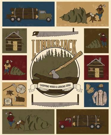 Lumberjack Aaron Panel Multi  Color P8709R