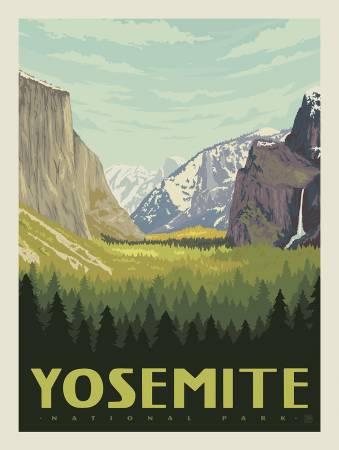 YOSEMITE NATIONAL PARKS PANEL P8789  by Riley Blake