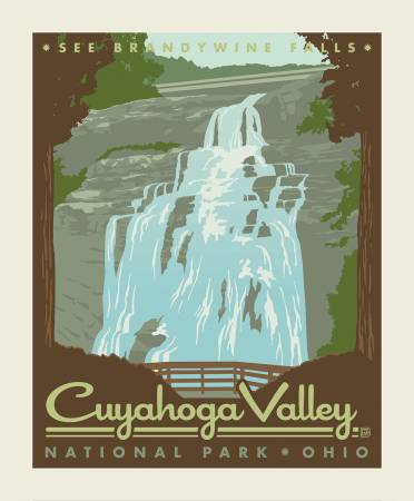 Cuyahoga Valley National Park Panel by Riley Blake