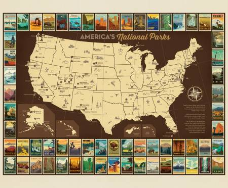 National Parks P9157 Poster