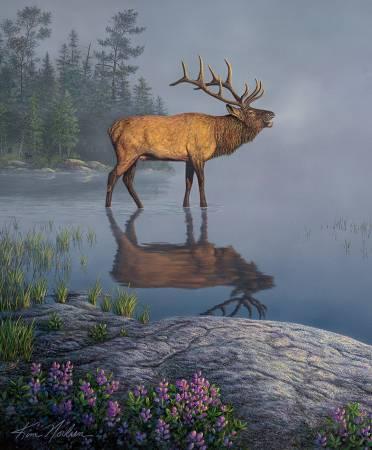 Natures Finest 36in Panel, Elk