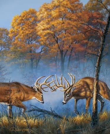 Natures Finest 36in Panel, Deer