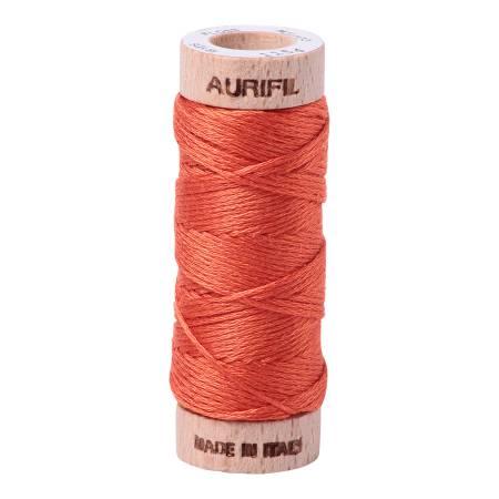 Aurifloss 6-Strand 18yd Solid Dusty Orange