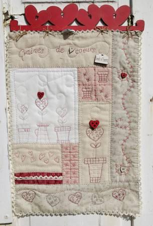 Pattern  Seeds Of Heart  Quilt