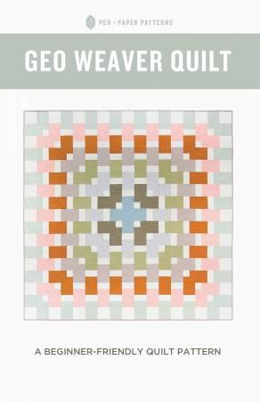 Geo Weaver Quilt Pattern