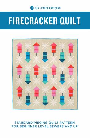 Pen & Paper Patterns - Firecracker Quilt