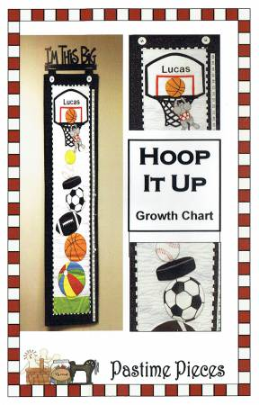 Hoop It Up Growth Chart Kit