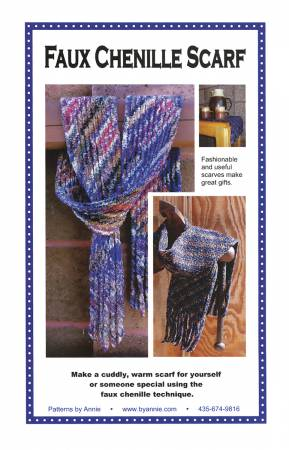 Faux Chenille Scarf