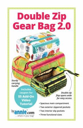 Double Zip Gear Bag 2.0 (ByAnnie)