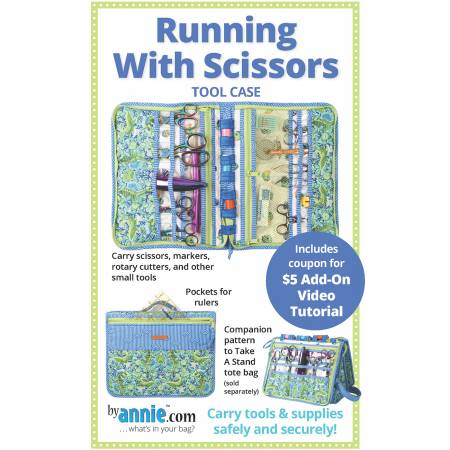 Running With Scissors Tool Case Pattern