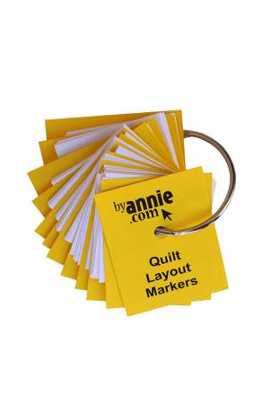 Quilt Layout Markers