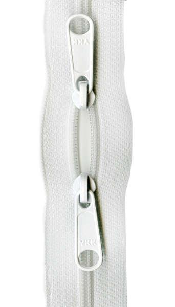 Handbag Zipper 30 White