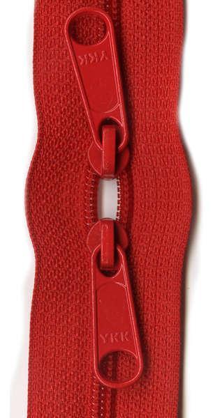 Handbag Zipper 30 Red