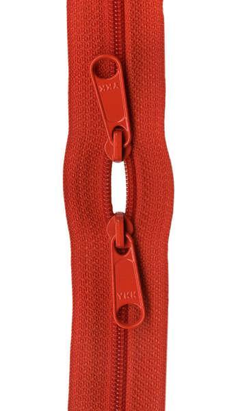 Handbag Zipper 30in Tangerine