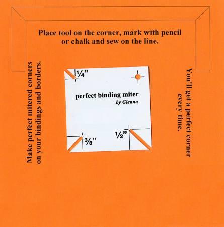 Binding Perfect Miter Tool