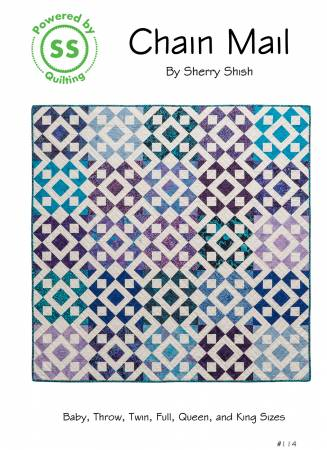 Chain Mail Pattern - Powered by Quilting