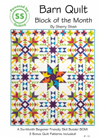 Barn Quilt Block of the Month