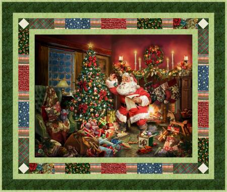Postcard From St Nick Pattern
