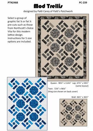 Mod Trellis Quilt Pattern