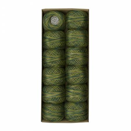 M19 Valdani Olive Variegated Pearl Cotton